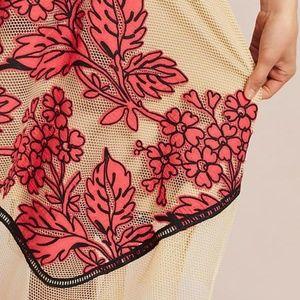 Eva Franco Skirts - NWT Rare Eva Franco Dorset Netted Floral Skirt